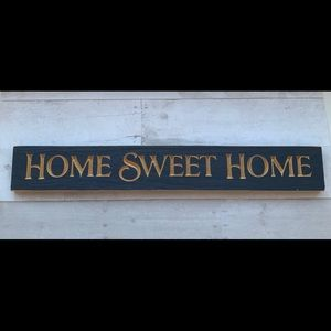 Home Sweet Home decor sign